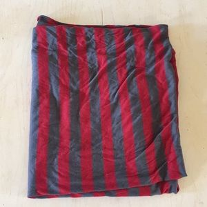 (Gap) striped infinity scarf